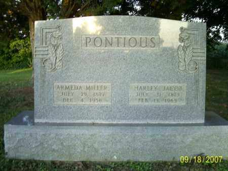 MILLER PONTIOUS, ALMEDA - Ross County, Ohio | ALMEDA MILLER PONTIOUS - Ohio Gravestone Photos