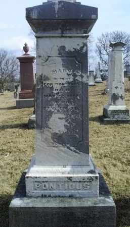 PONTIOUS, MARY - Ross County, Ohio | MARY PONTIOUS - Ohio Gravestone Photos
