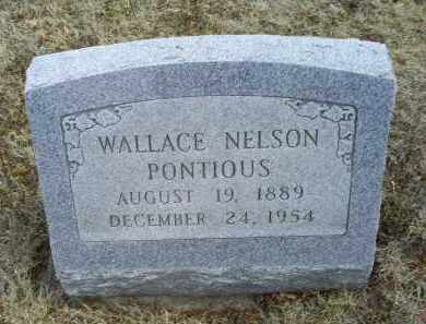 PONTIOUS, WALLACE NELSON - Ross County, Ohio | WALLACE NELSON PONTIOUS - Ohio Gravestone Photos