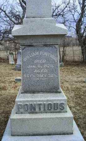 PONTIOUS, WILLIAM - Ross County, Ohio | WILLIAM PONTIOUS - Ohio Gravestone Photos