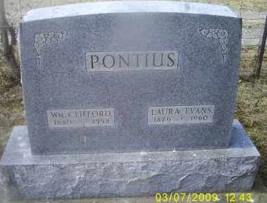 EVANS PONTIOUS, LAURA - Ross County, Ohio | LAURA EVANS PONTIOUS - Ohio Gravestone Photos