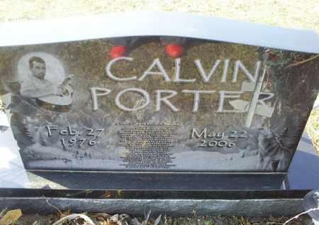 PORTER, CALVIN - Ross County, Ohio | CALVIN PORTER - Ohio Gravestone Photos