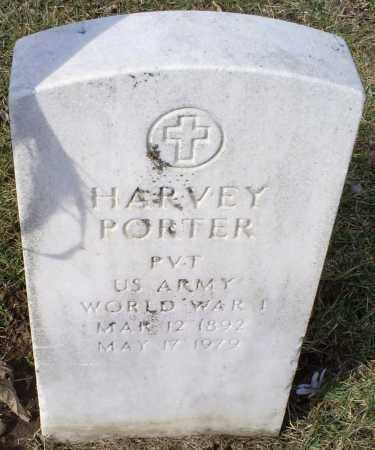 PORTER, HARVEY - Ross County, Ohio | HARVEY PORTER - Ohio Gravestone Photos