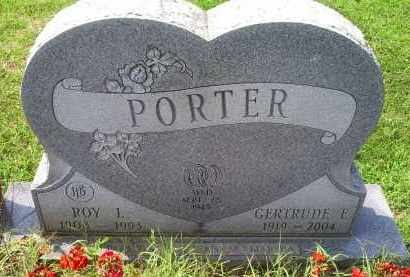 PORTER, ROY L. - Ross County, Ohio | ROY L. PORTER - Ohio Gravestone Photos
