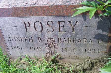 POSEY, BARBARA D. - Ross County, Ohio | BARBARA D. POSEY - Ohio Gravestone Photos
