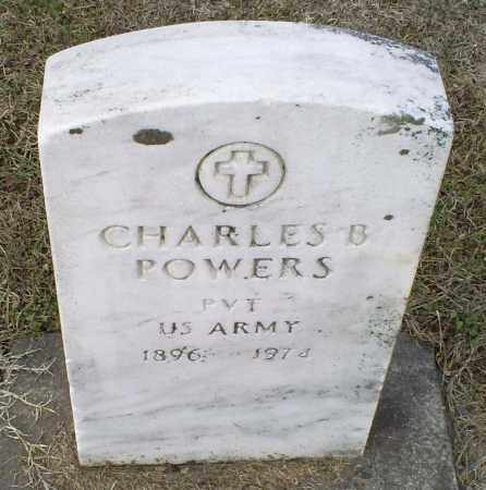 POWERS, CHARLES B. - Ross County, Ohio | CHARLES B. POWERS - Ohio Gravestone Photos