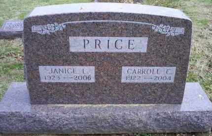 PRICE, JANICE L. - Ross County, Ohio | JANICE L. PRICE - Ohio Gravestone Photos