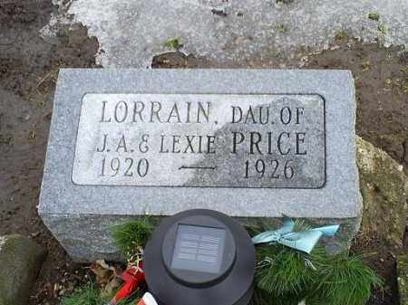 PRICE, LORRAIN - Ross County, Ohio | LORRAIN PRICE - Ohio Gravestone Photos