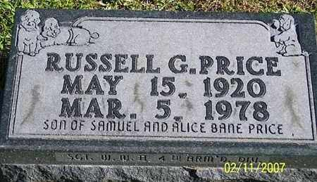PRICE, RUSSELL G. - Ross County, Ohio | RUSSELL G. PRICE - Ohio Gravestone Photos