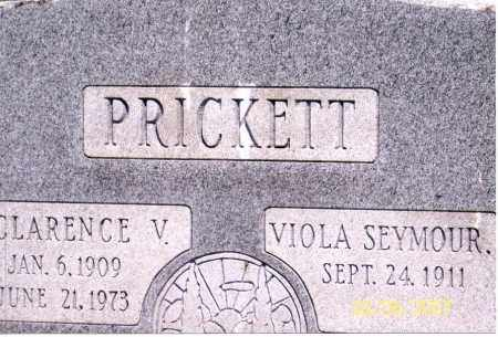 SEYMOUR PRICKETT, VIOLA - Ross County, Ohio | VIOLA SEYMOUR PRICKETT - Ohio Gravestone Photos