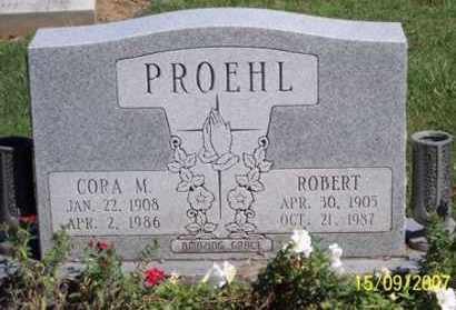 PROEHL, CORA M. - Ross County, Ohio | CORA M. PROEHL - Ohio Gravestone Photos