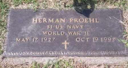 PROEHL, HERMAN - Ross County, Ohio | HERMAN PROEHL - Ohio Gravestone Photos