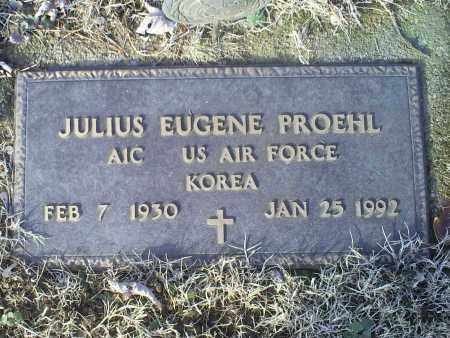 PROEHL, JULIUS EUGENE - Ross County, Ohio | JULIUS EUGENE PROEHL - Ohio Gravestone Photos