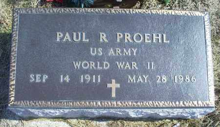 PROEHL, PAUL R. - Ross County, Ohio | PAUL R. PROEHL - Ohio Gravestone Photos