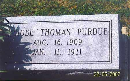 THOMAS PURDUE, PHOBE - Ross County, Ohio | PHOBE THOMAS PURDUE - Ohio Gravestone Photos