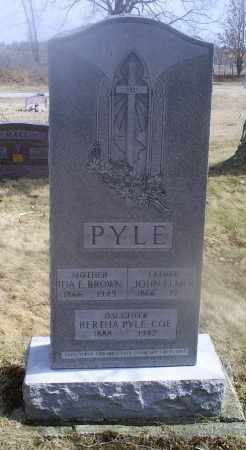 BROWN PYLE, IDA E. - Ross County, Ohio | IDA E. BROWN PYLE - Ohio Gravestone Photos
