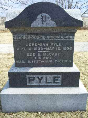 PYLE, JEREMIAH - Ross County, Ohio | JEREMIAH PYLE - Ohio Gravestone Photos