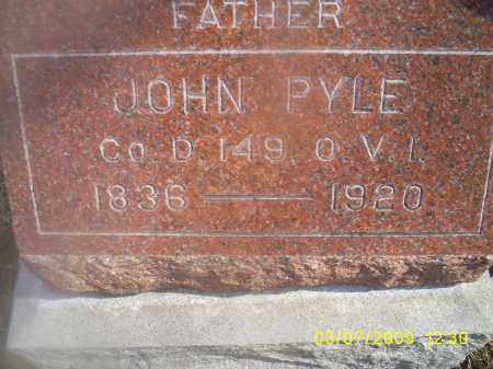 PYLE, JOHN - Ross County, Ohio | JOHN PYLE - Ohio Gravestone Photos