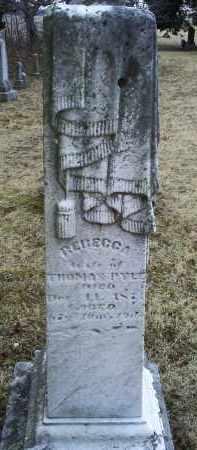 PYLE, REBECCA - Ross County, Ohio | REBECCA PYLE - Ohio Gravestone Photos