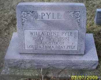 PYLE, WILLA DENT - Ross County, Ohio | WILLA DENT PYLE - Ohio Gravestone Photos