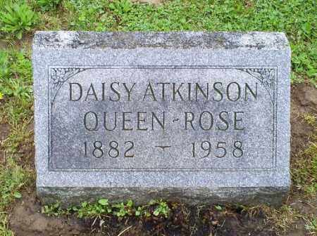 ATKINSON QUEEN-ROSE, DAISY - Ross County, Ohio | DAISY ATKINSON QUEEN-ROSE - Ohio Gravestone Photos