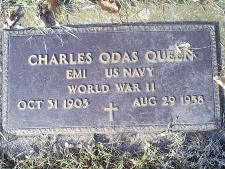QUEEN, CHARLES ODAS - Ross County, Ohio | CHARLES ODAS QUEEN - Ohio Gravestone Photos