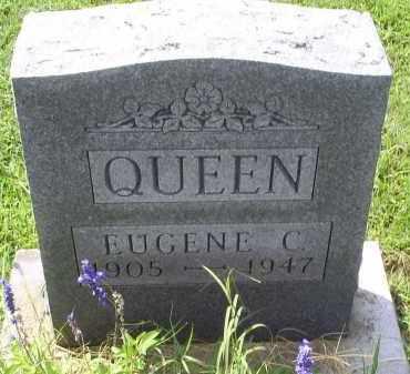 QUEEN, EUGENE C. - Ross County, Ohio | EUGENE C. QUEEN - Ohio Gravestone Photos