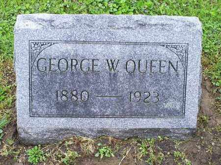 QUEEN, GEORGE W. - Ross County, Ohio | GEORGE W. QUEEN - Ohio Gravestone Photos