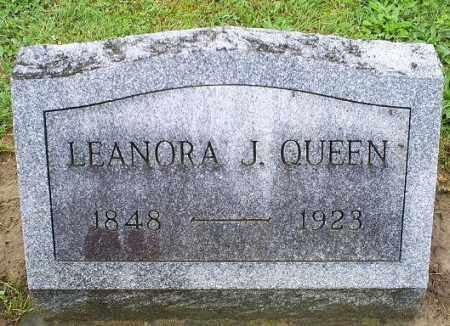 QUEEN, LEANORA J. - Ross County, Ohio | LEANORA J. QUEEN - Ohio Gravestone Photos