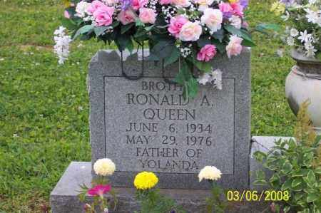 QUEEN, RONALD A. - Ross County, Ohio | RONALD A. QUEEN - Ohio Gravestone Photos
