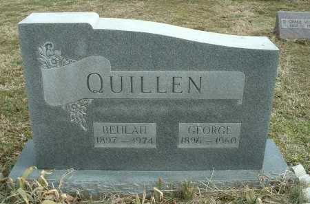 QUILLEN, BEULAH - Ross County, Ohio | BEULAH QUILLEN - Ohio Gravestone Photos