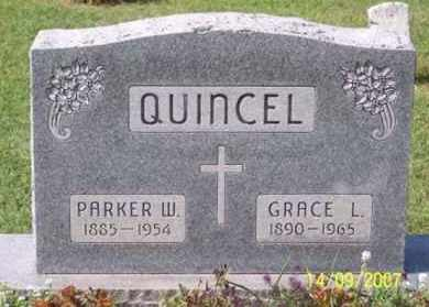QUINCEL, PARKER W. - Ross County, Ohio | PARKER W. QUINCEL - Ohio Gravestone Photos