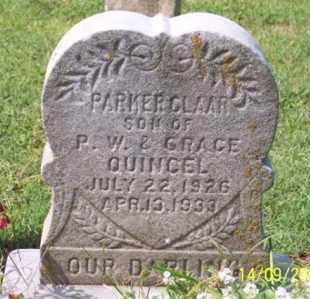 QUINCEL, PARKER CLAAR - Ross County, Ohio | PARKER CLAAR QUINCEL - Ohio Gravestone Photos