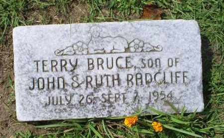 RADCLIFF, TERRY BRUCE - Ross County, Ohio | TERRY BRUCE RADCLIFF - Ohio Gravestone Photos