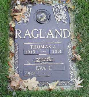 RAGLAND, THOMAS J. - Ross County, Ohio | THOMAS J. RAGLAND - Ohio Gravestone Photos