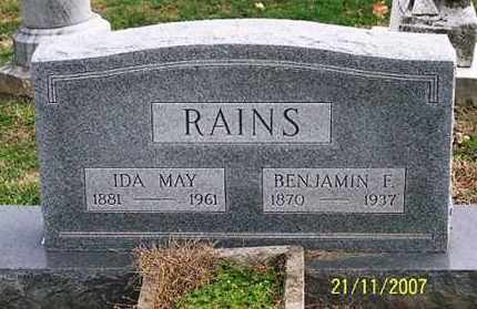 RAINES, IDA MAY - Ross County, Ohio | IDA MAY RAINES - Ohio Gravestone Photos