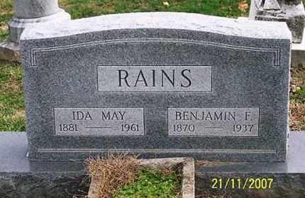 RAINES, BENJAMIN F. - Ross County, Ohio | BENJAMIN F. RAINES - Ohio Gravestone Photos