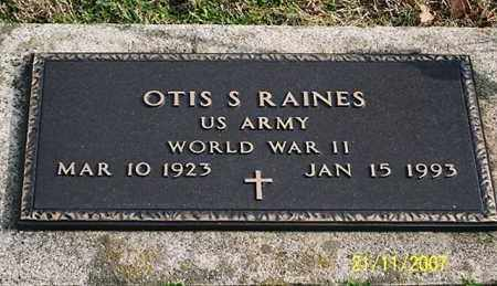 RAINES, OTIS S. - Ross County, Ohio | OTIS S. RAINES - Ohio Gravestone Photos