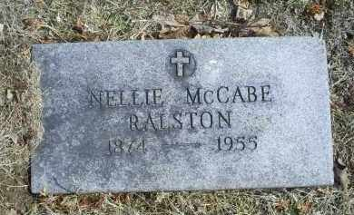 MCCABE RALSTON, NELLIE - Ross County, Ohio | NELLIE MCCABE RALSTON - Ohio Gravestone Photos