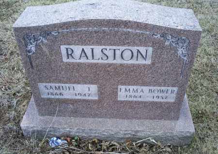 RALSTON, SAMUEL T. - Ross County, Ohio | SAMUEL T. RALSTON - Ohio Gravestone Photos