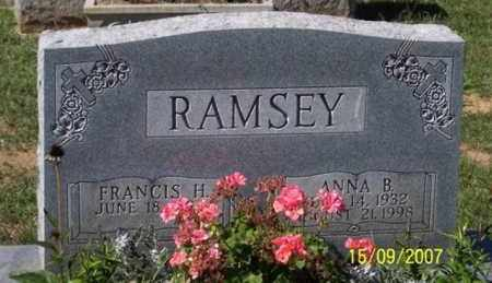 RAMSEY, ANNA B. - Ross County, Ohio | ANNA B. RAMSEY - Ohio Gravestone Photos