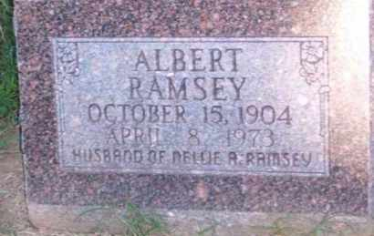 RAMSEY, ALBERT - Ross County, Ohio | ALBERT RAMSEY - Ohio Gravestone Photos
