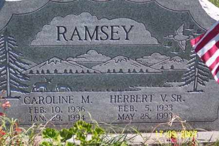 RAMSEY, HERBERT V. SR. - Ross County, Ohio | HERBERT V. SR. RAMSEY - Ohio Gravestone Photos