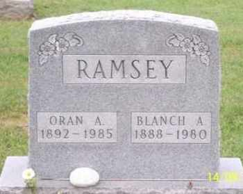 RAMSEY, ORAN A. - Ross County, Ohio | ORAN A. RAMSEY - Ohio Gravestone Photos