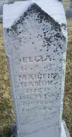 RANCK, ELIZA - Ross County, Ohio | ELIZA RANCK - Ohio Gravestone Photos