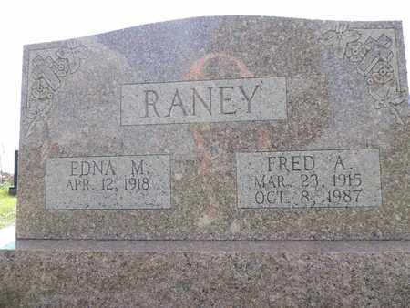 RANEY, EDNA M. - Ross County, Ohio | EDNA M. RANEY - Ohio Gravestone Photos