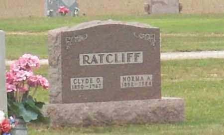 RATCLIFF, CLYDE O - Ross County, Ohio | CLYDE O RATCLIFF - Ohio Gravestone Photos
