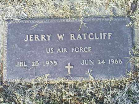 RATCLIFF, JERRY W. - Ross County, Ohio | JERRY W. RATCLIFF - Ohio Gravestone Photos
