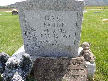 RATLIFF, EUNICE - Ross County, Ohio | EUNICE RATLIFF - Ohio Gravestone Photos