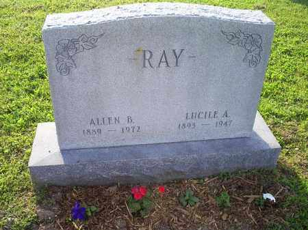 RAY, ALLEN B. - Ross County, Ohio | ALLEN B. RAY - Ohio Gravestone Photos
